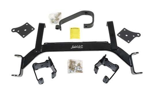 "Golf Cart Jake's 5"" Drop Axle Lift Kit, EZ-GO Workhorse 01+"