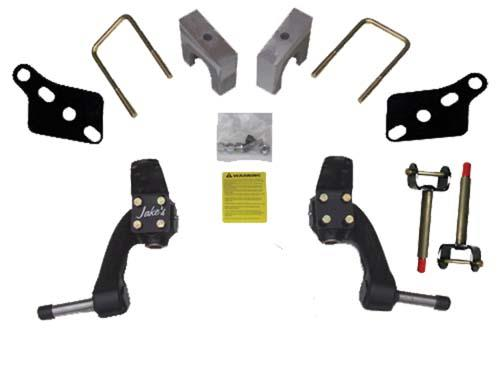 """Jake's Club Car Precedent, Tempo & Onward 6"""" Drop Spindle Lift Kit Fits 2004 and Newer Golf Carts"""