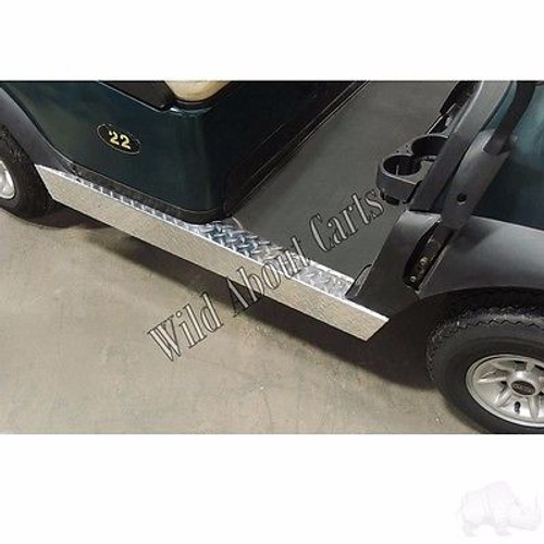 Golf Cart Diamond Plate Rocker Panels for Club Car Precedent