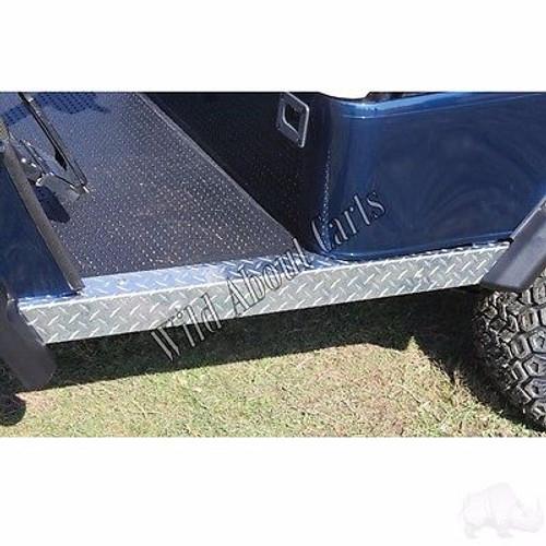 Golf Cart Diamond Plate Rocker Panels for EZGO TXT