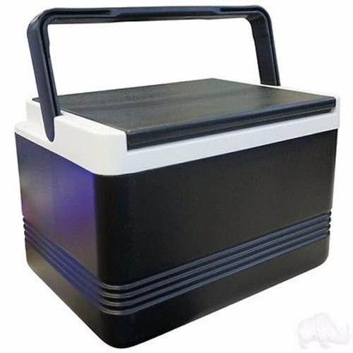 Igloo Legend 12 Black 9 Quart Cooler for Golf Cart Cooler Bracket