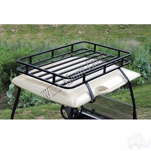 Club Car DS Golf Cart Roof Rack Storage System