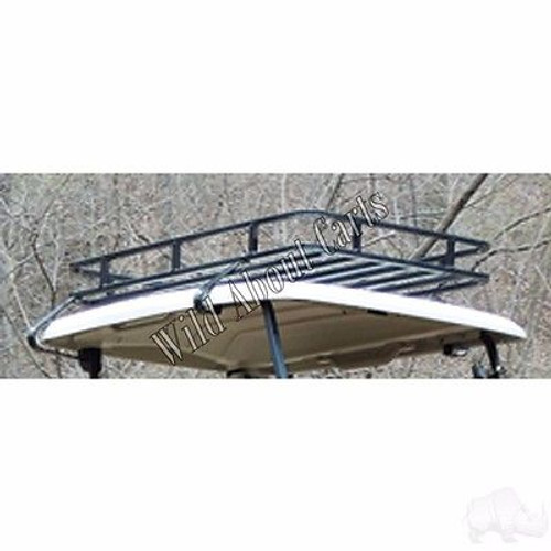 Club Car Precedent Golf Cart Roof Rack Storage System