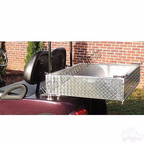 Golf Cart Yamaha G2/G9 Heavy Duty Diamond Plate Aluminum Utility Box Kit