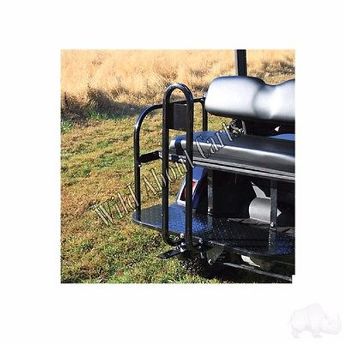 Golf Cart Rear Seat Trailer Hitch Receiver with Safety Bar EZGO/Club Car/Yamaha