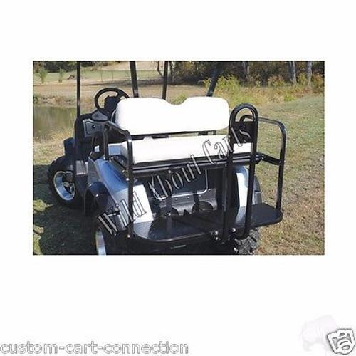 E-Z-Go RXV Super Saver Rear Flip-Flop Seat Kit for EzGo Golf Cart Beige Cushion