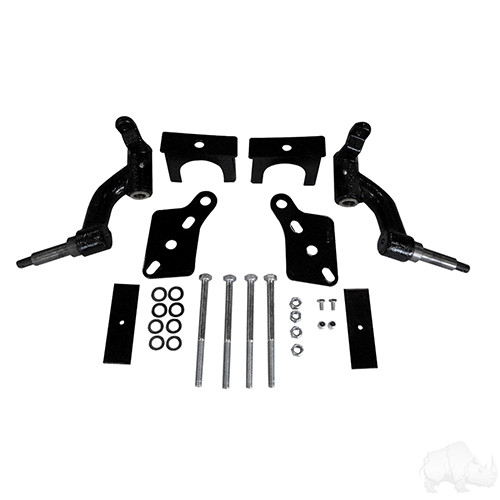 """RHOX Club Car Precedent, Tempo and Onward 3"""" Spindle Lift Kit For Gas Electric Golf Cart 2004-Up"""