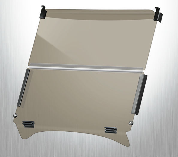 Doubletake Standard Latch Folding  Windshield