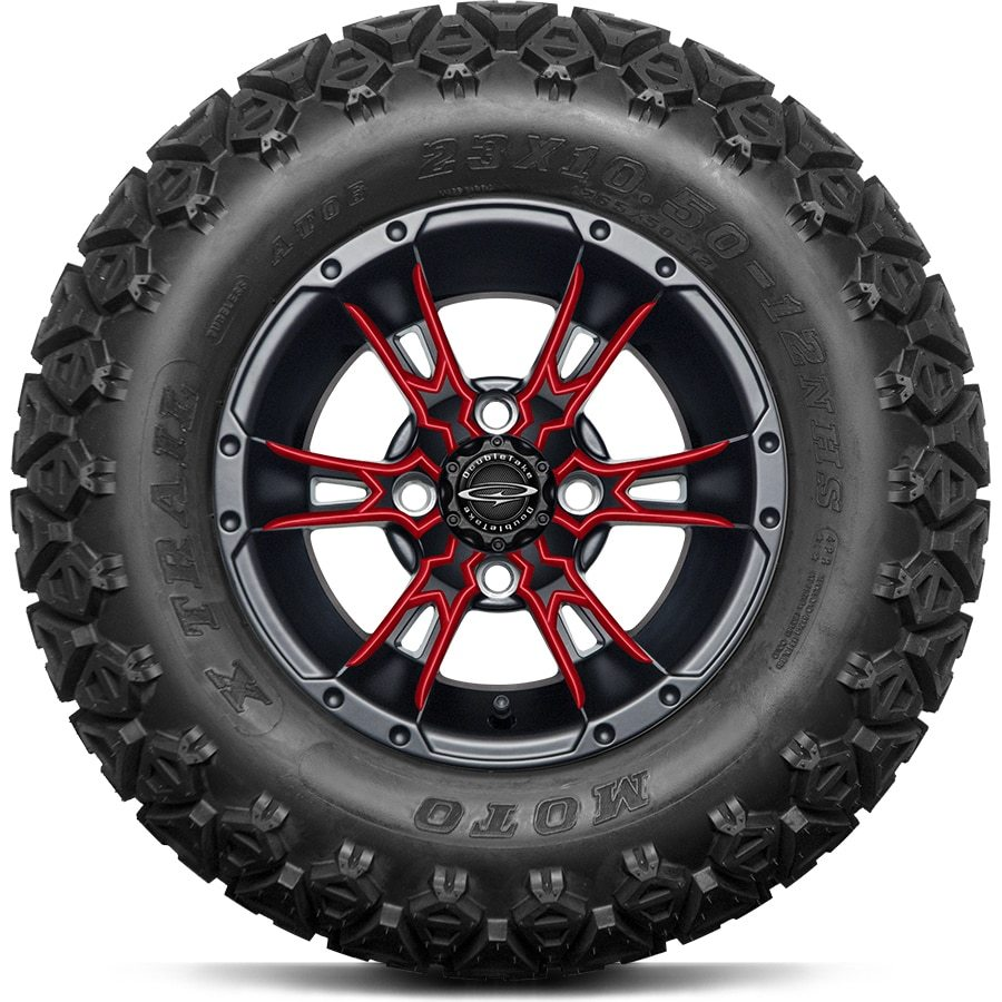 "DoubleTake 12"" Wicked 57 Satin Black All Terrain"