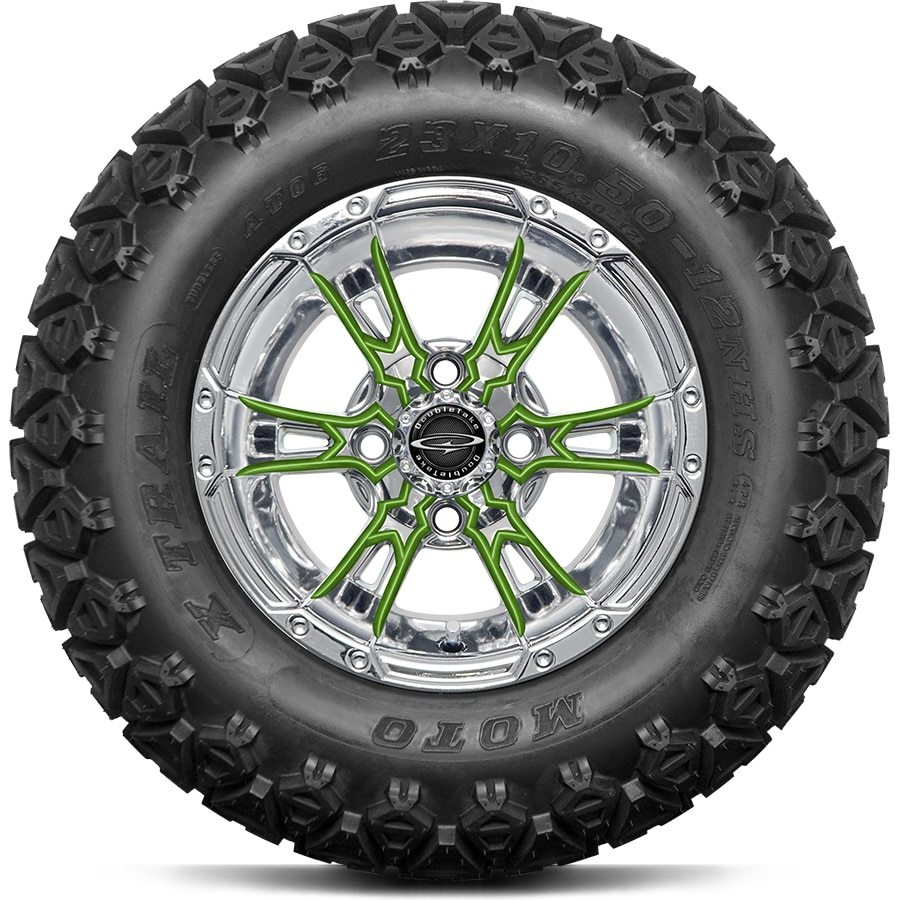 Double Take Wicked 57 Chrome All Terrain Tires