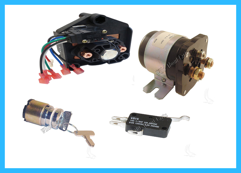 Keys, Forward/Reverse, Micro Switches & Solenoids