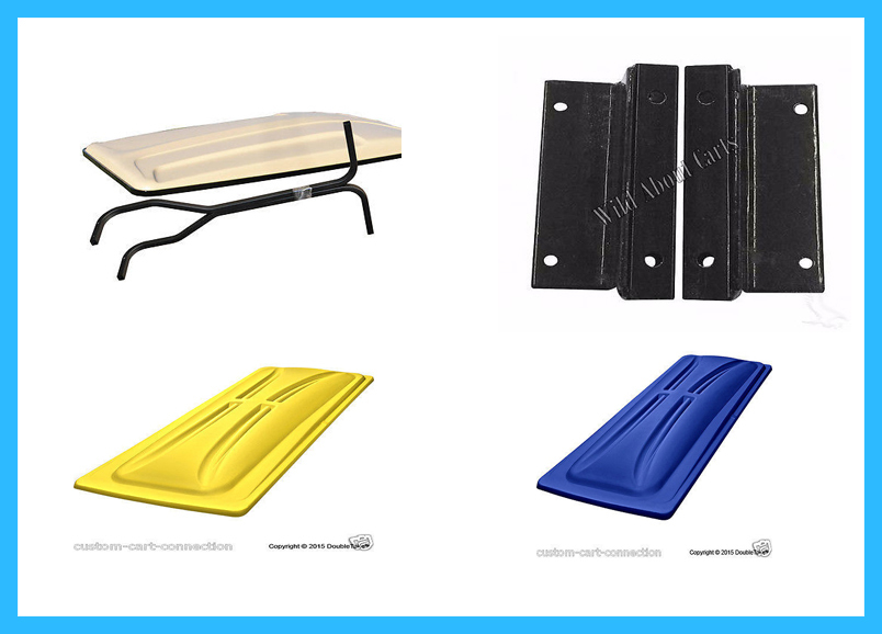 Golf Cart  Tops & Supports