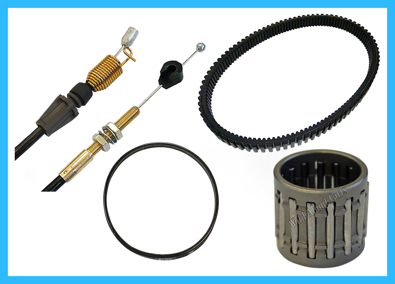 Belts, Cables, Bearings & Hardware