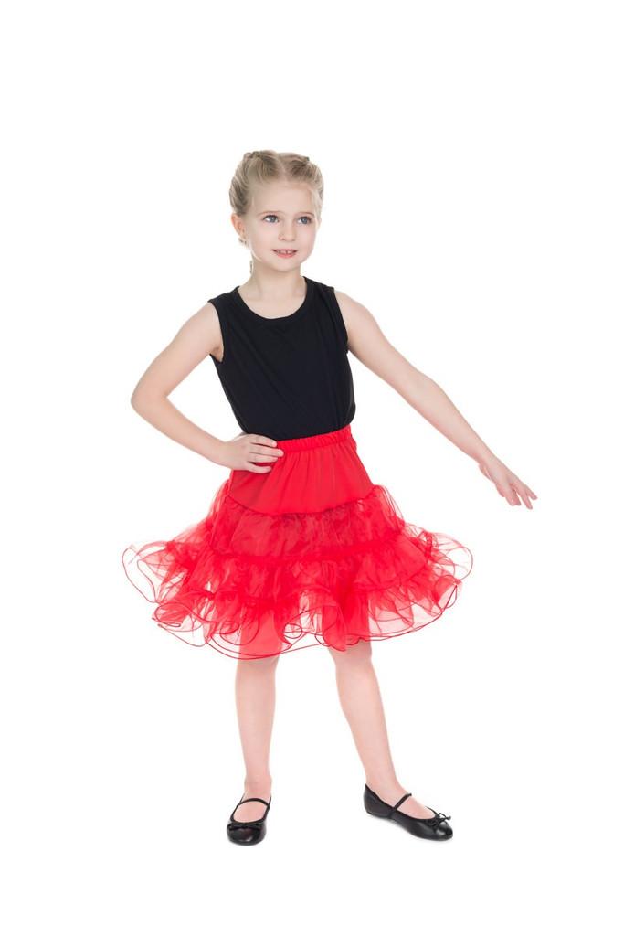 Children Petticoat - Red