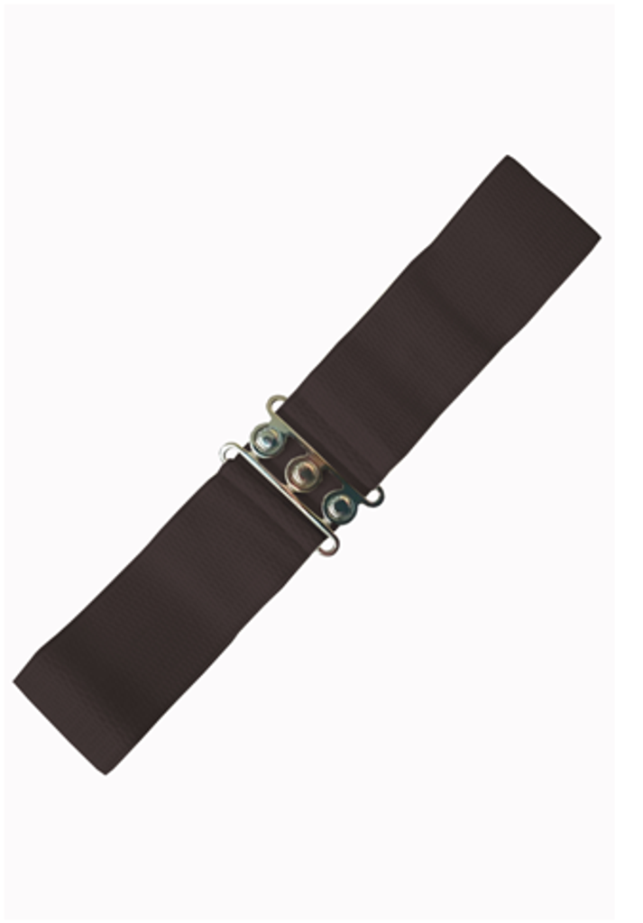 Vintage Stretch Belt - Brown