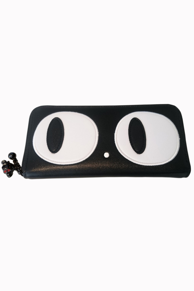 Heart of Gold Large Cat Eyes  Purse