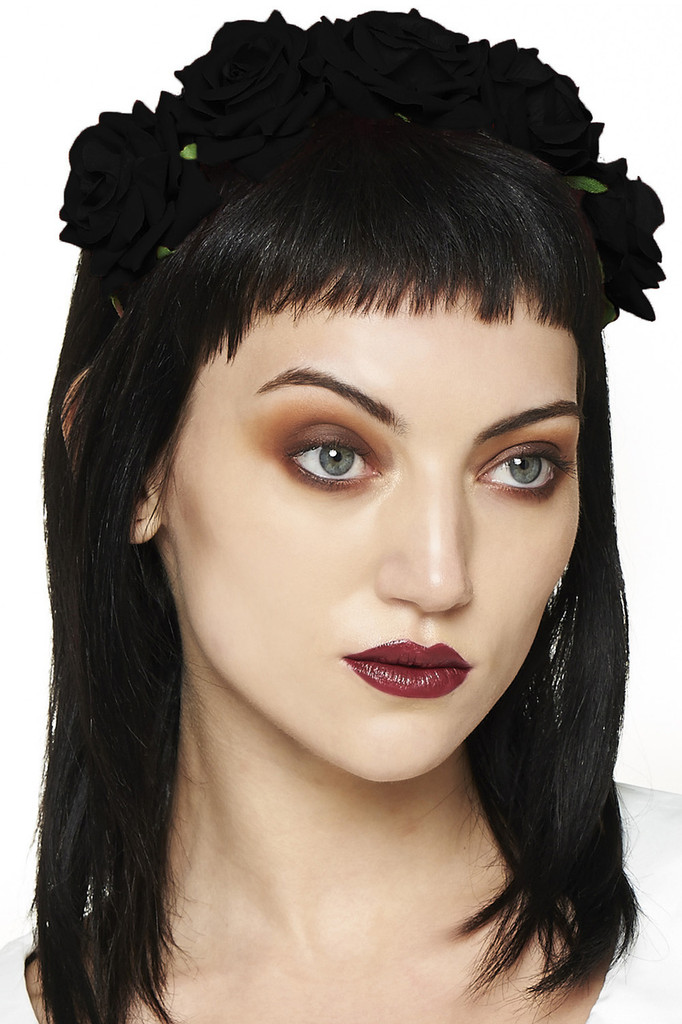 Lilian Rose Headband - Black