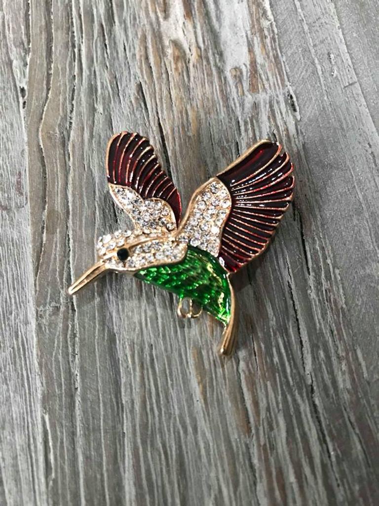 Brooch - Helena Humming Bird