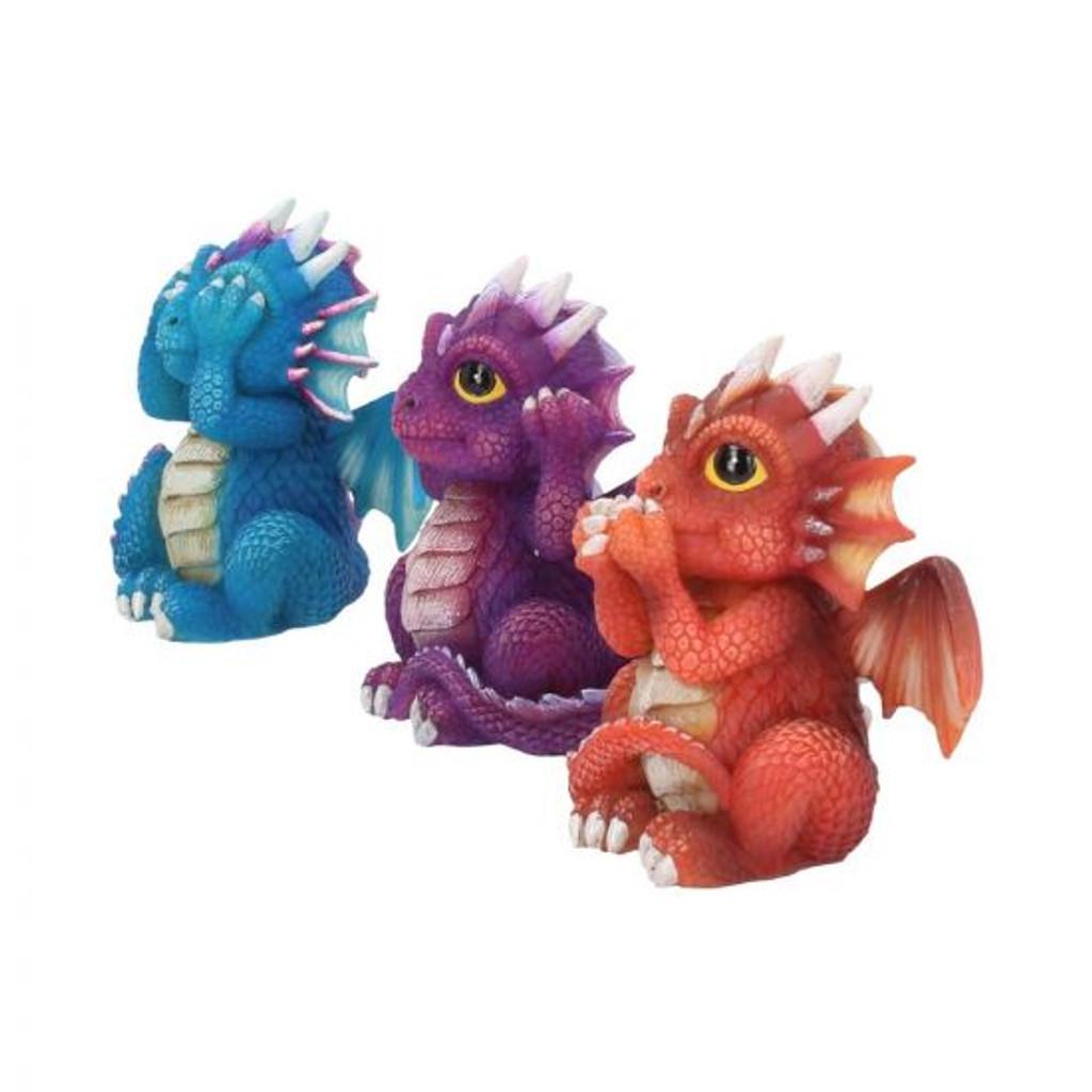 Three Wise Dragonlings