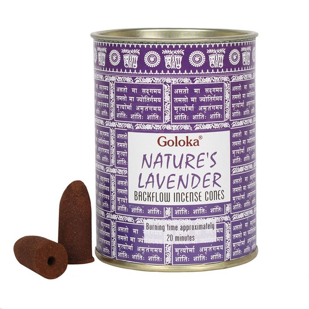 Back Flow Incense Cones - Lavender
