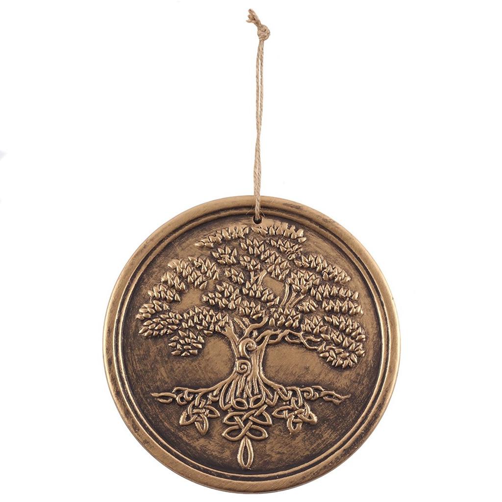 Bronze Effect Tree Of Life Plaque