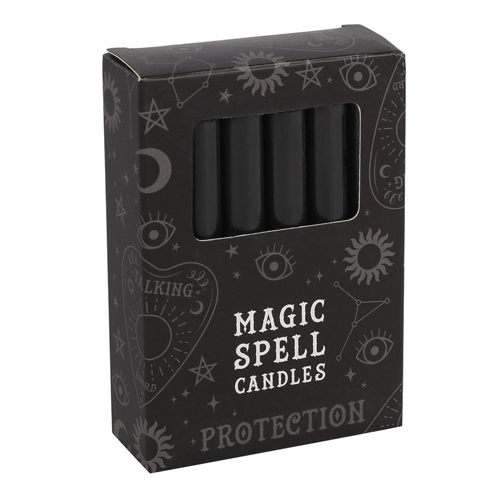 Spell Candles - Black Candles For Protection