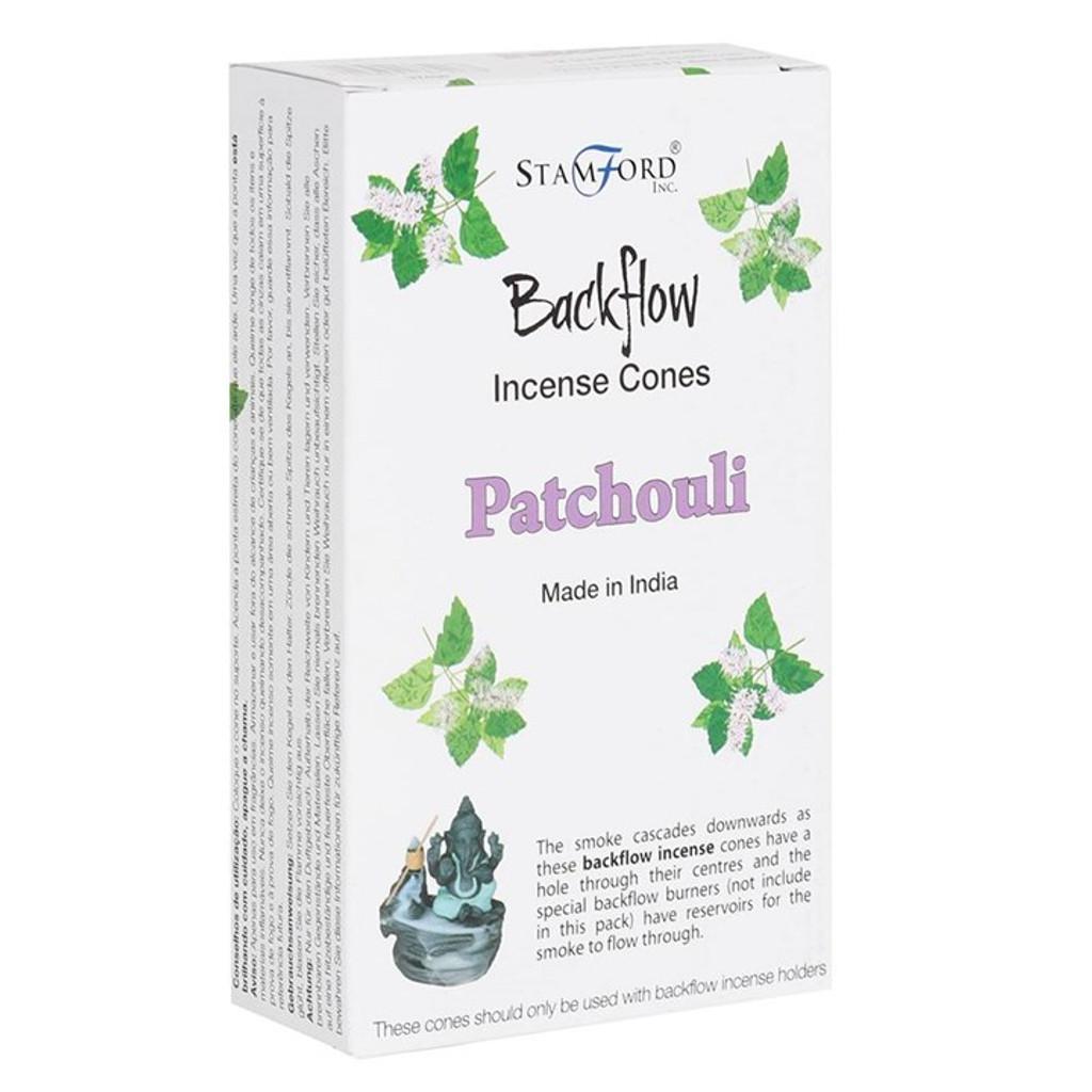 Backflow Incense Cones - Patchouli Scented
