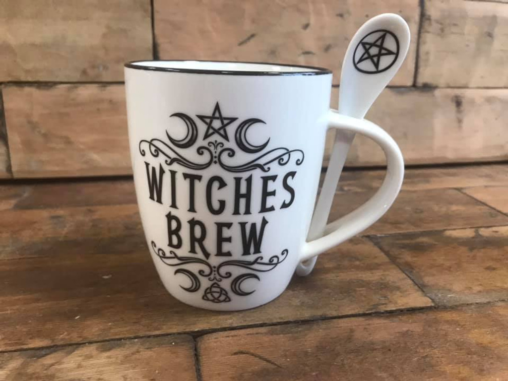 Mug and Spoon Set - Witches Brew