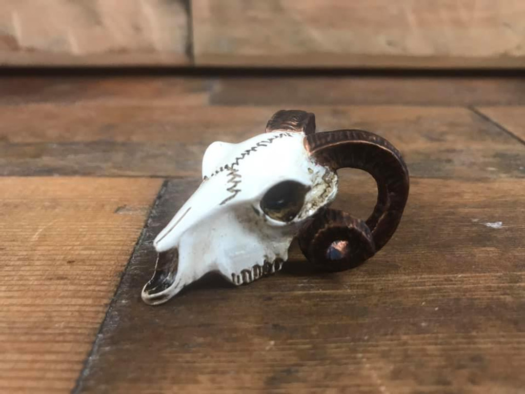 Miniature Talisman - Rams Head