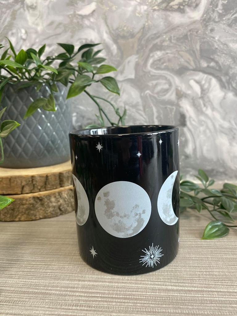 Black and White Triple Moon Mug