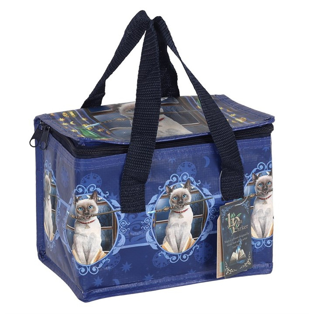 Hocus Pocus Recycled Plastic Lunch Bag Featuring Cat by Lisa Parker