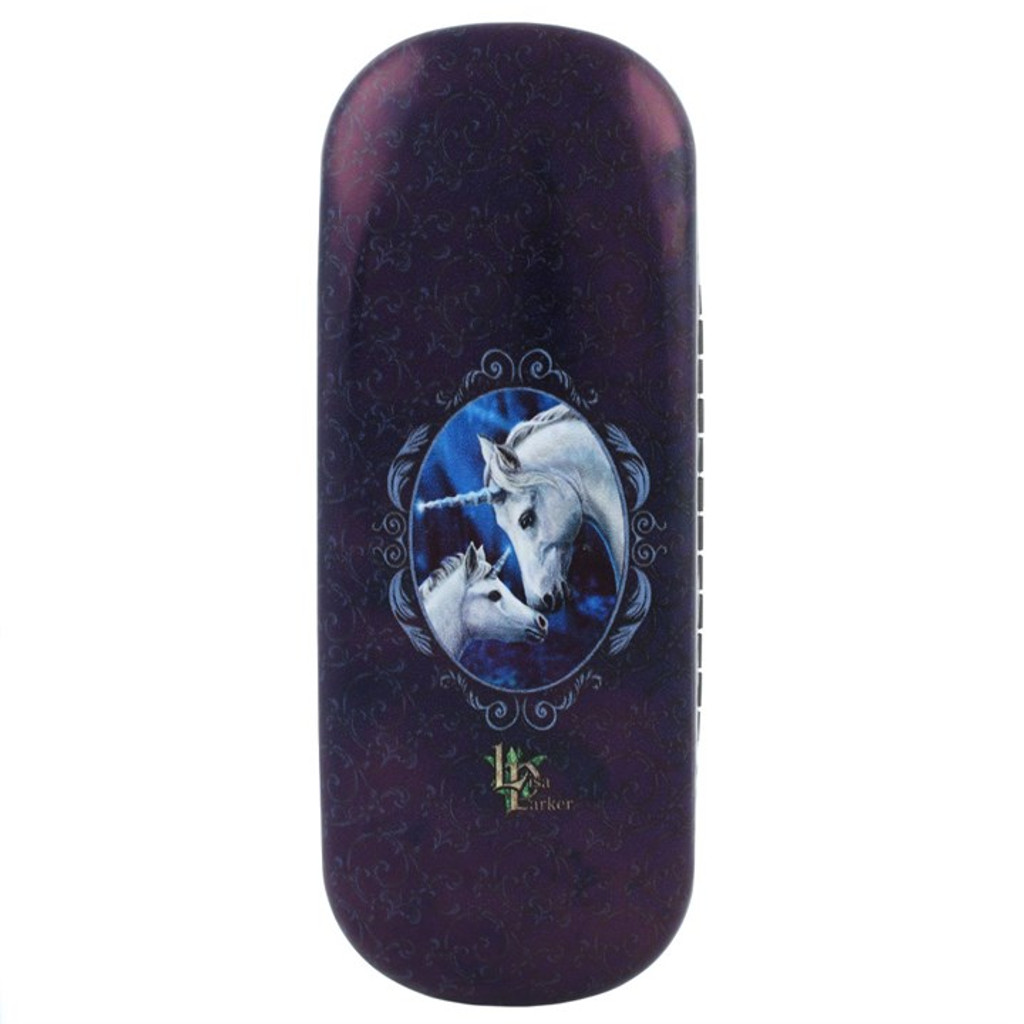 Sacred Love Case Glasses Case Featuring Unicorns by Lisa Parker