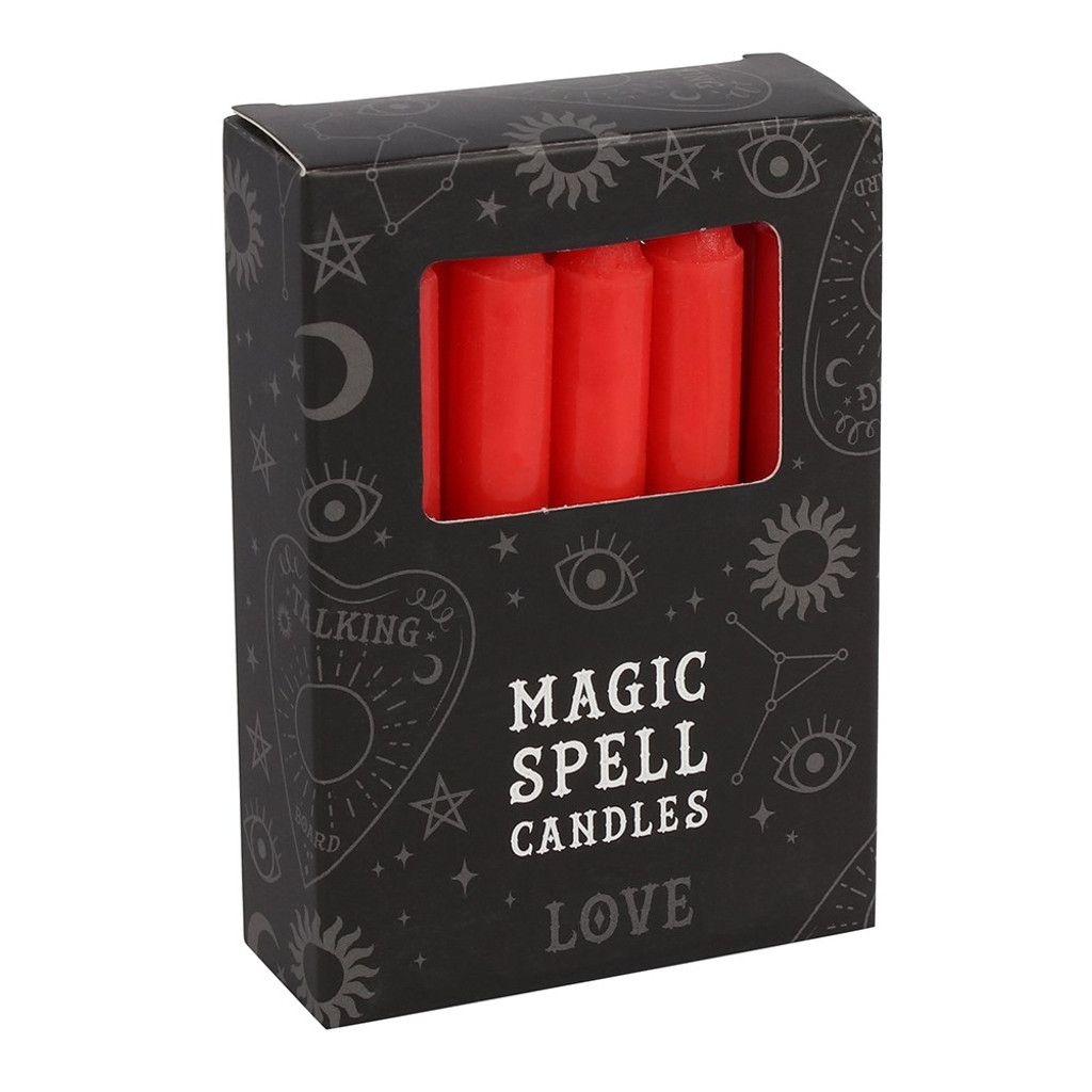 Spell Candles - Red Candles For Love
