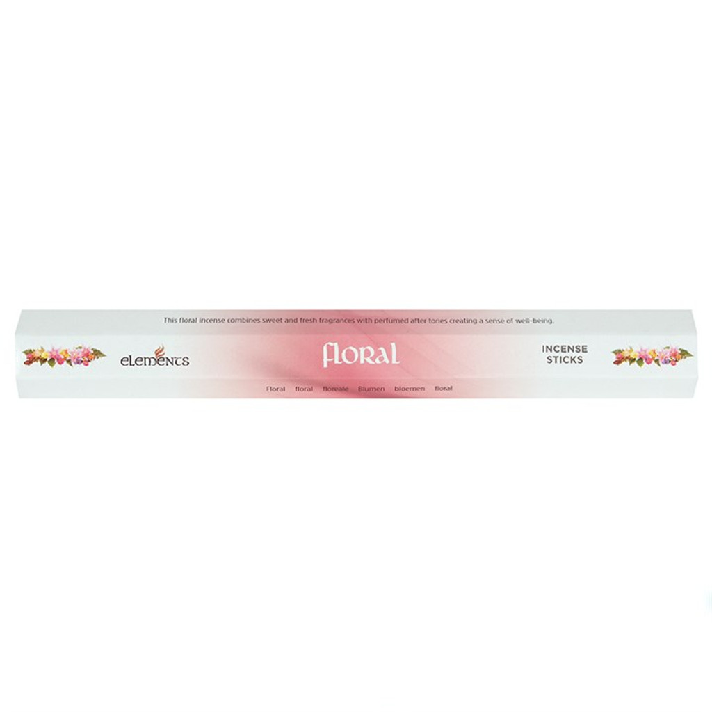 Floral Incense Sticks for Home Fragrance x 20