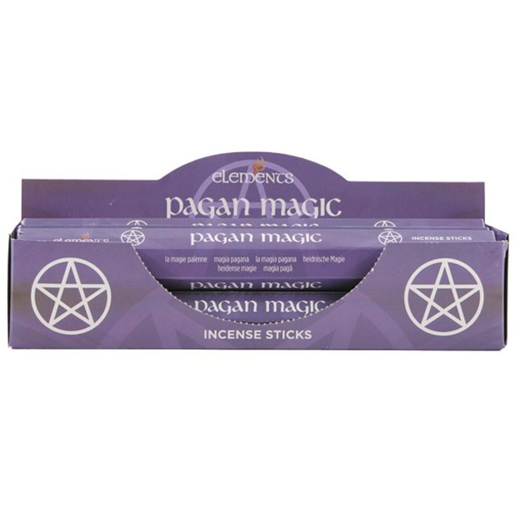 20 x Pagan Magic Poison Fragranced Incense Sticks for Home Fragrance