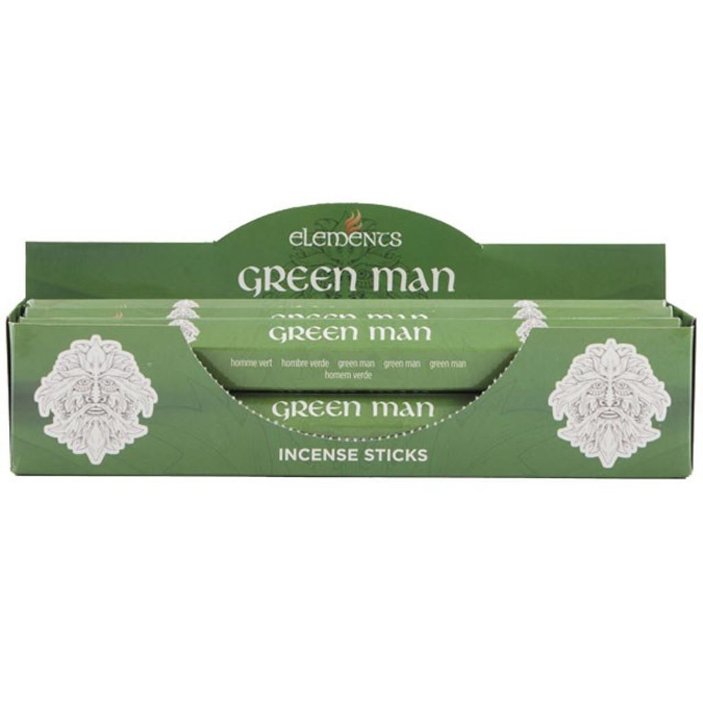 20 x Green Man Cannabis Fragranced Incense Sticks for Home Fragrance