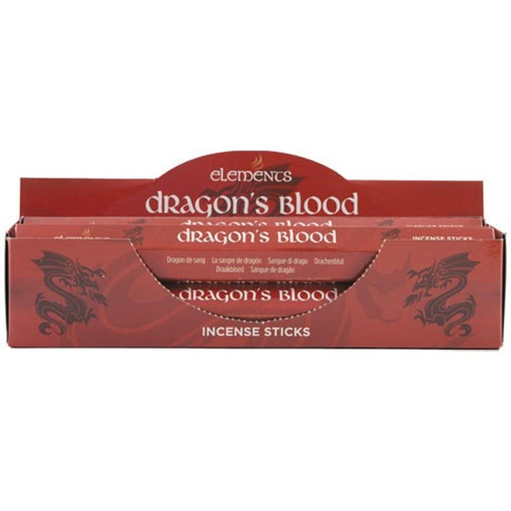 20 x Dragons Blood Fragranced Incense Sticks for Home Fragrance