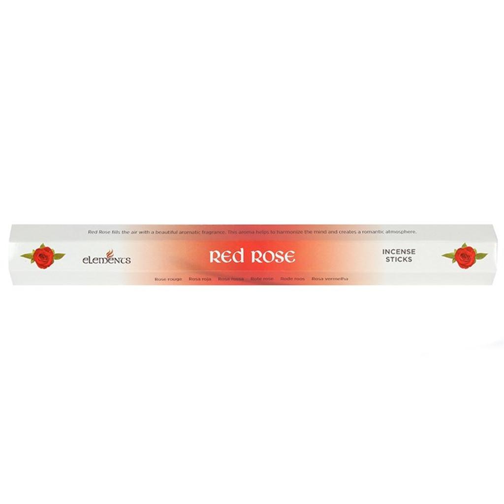 20 x Red Rose Incense Sticks for Home Fragrance