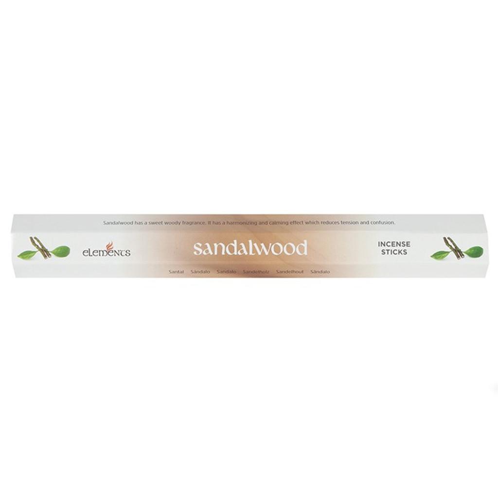 20 x Sandalwood Incense Sticks for Home Fragrance