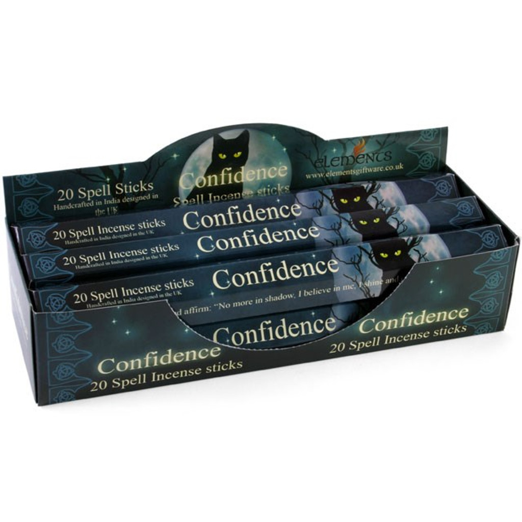 20 x Confidence Incense Sticks for Home Fragrance