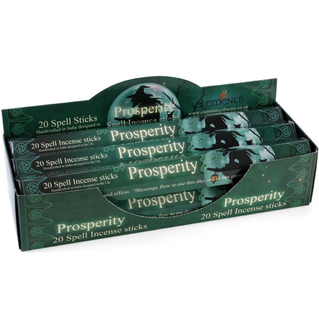 20 x Prosperity Incense Sticks for Home Fragrance