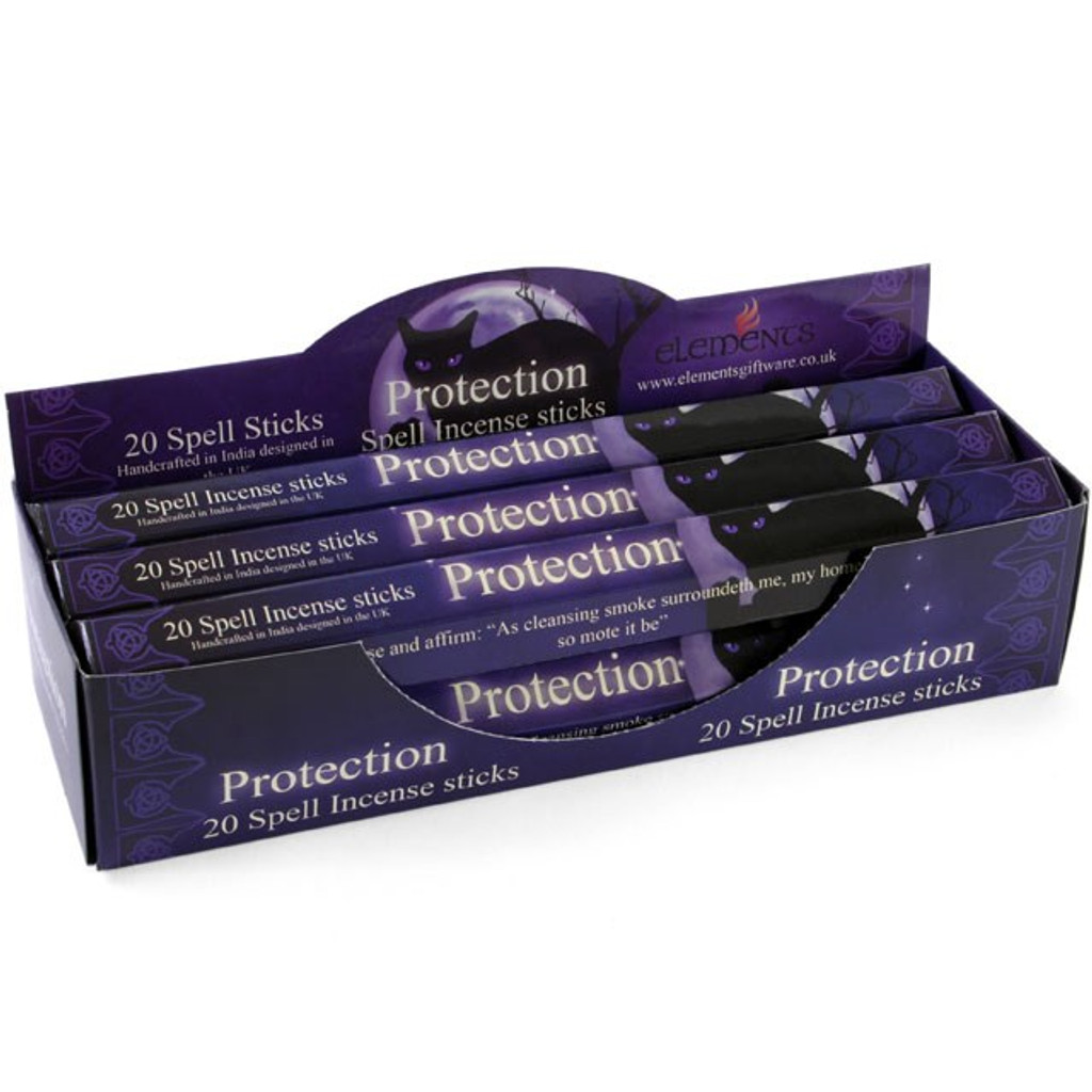 20 x Protection Incense Sticks for Home Fragrance