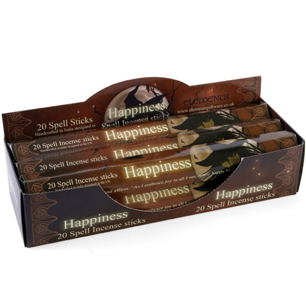 20 x Happiness Incense Sticks for Home Fragrance