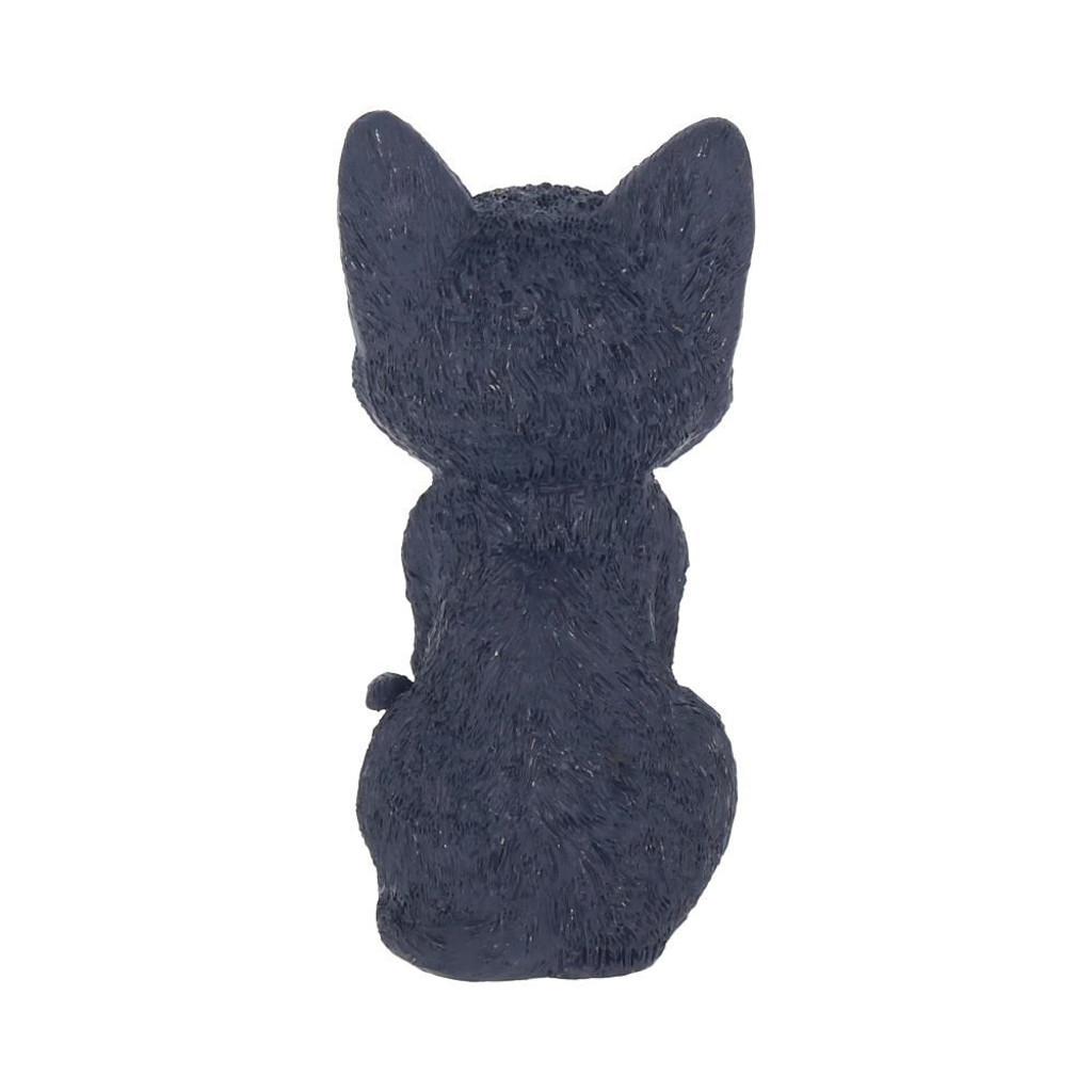 Count Kitty Cute Black Cat Figurine