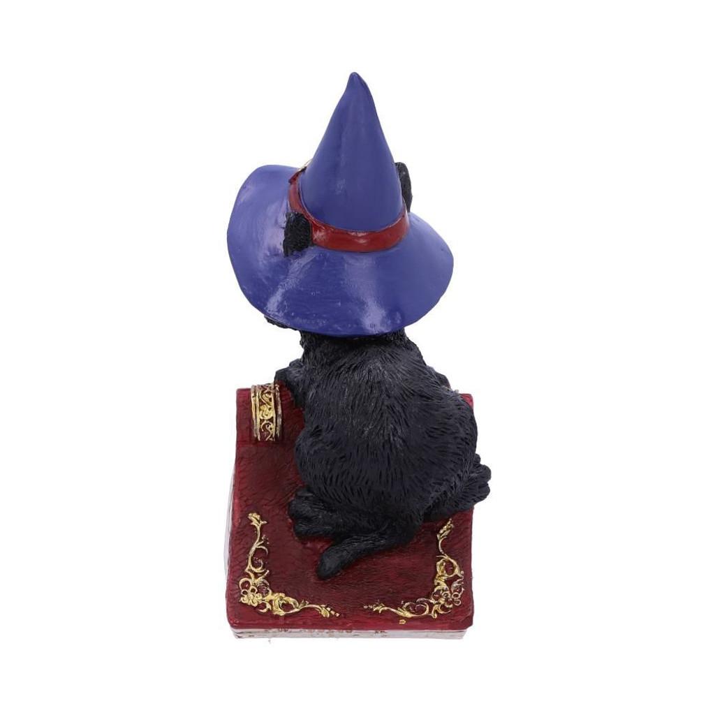Hocus Small Witches Familiar Black Cat and Spellbook Figurine