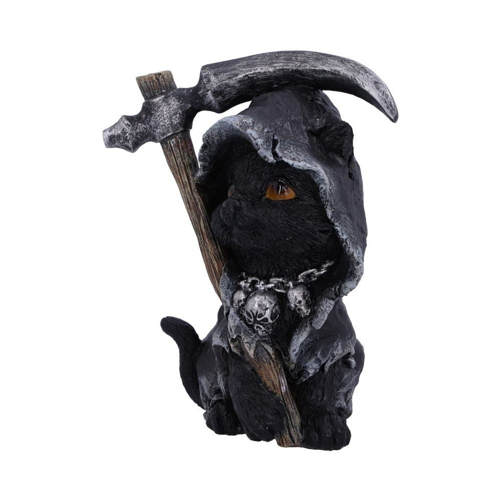 Amara Grim Reaper Feline Cat Figurine