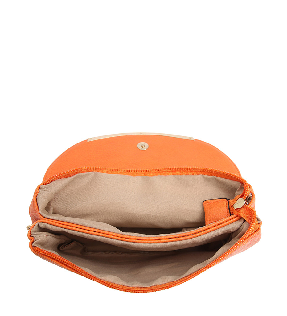 Cross Body Bag with Detachable Wrist Strap and Shoulder Strap - Beige