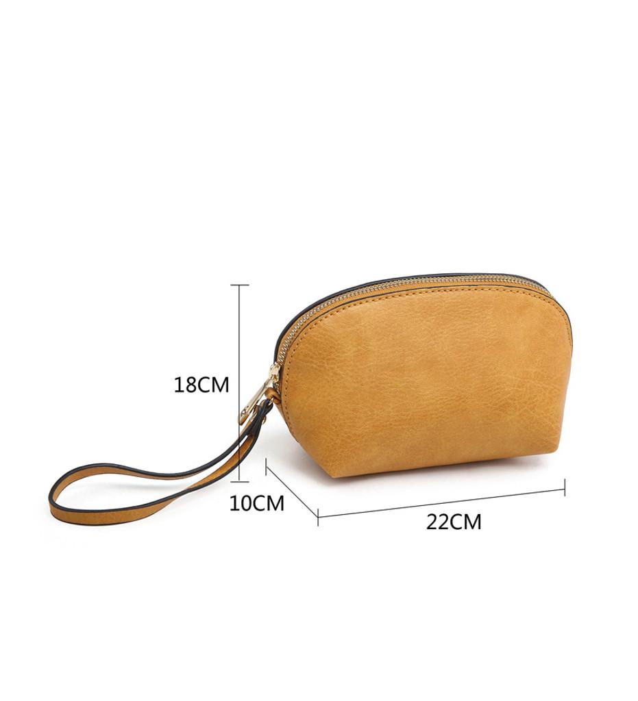 3 Piece Handbag Set with Detachable Shoulder Strap - Pink