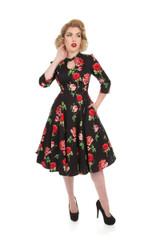 Vintage Style Dress - Ameila