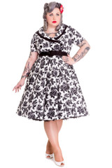 SALE - Hell Bunny Honor 50s Style Dress